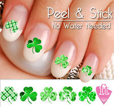 St. Patrick's Day Shamrock Four Leaf Clover Nail Art Decal Sticker Set SHM902