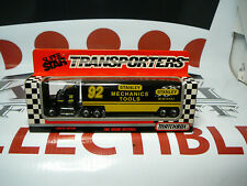 LARRY PEARSON #92 Stanley Tools Racing Team Transporter MATCHBOX White Rose 1:87