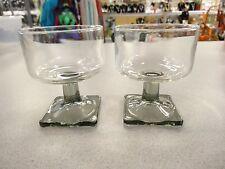 Vintage Set Of 6 1950'S Federal Glass Co. 4 1/2 oz Wine Sherbet Rocks Champagne