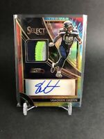 2019 Panini Select Shaquem Griffin 3 Color Tie Dye Patch Auto! 23/25! Seahawks
