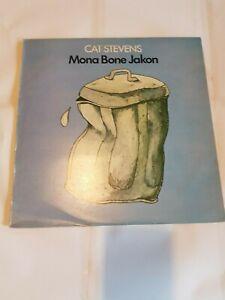 CAT STEVENS MONA BONE JAKON VINYL  ISLAND RECORDS 1970 ILPS 9118