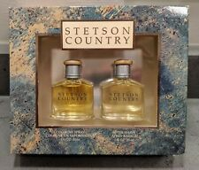 Stetson COUNTRY by COTY Cologne + After Shave SET for Men 1 oz each / 30 ml NEW