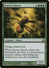 Hornet Queen Commander HEAVILY PLD Green Rare MAGIC THE GATHERING CARD ABUGames
