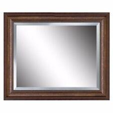 Espejo De Pared Plata Antiguo Barroco Reproducción Baño Decoración 56x46 2 Espejos