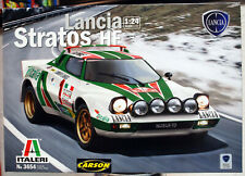 1977 Lancia Stratos Rallye Monte Carlo & Straßenversion 1:24 Italeri 3654