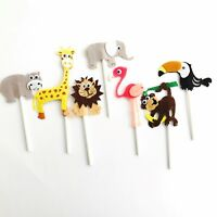 Animal Zoo Safari Jungle Cake Topper. Party Supplies Food Lolly Bag Bunting Lion