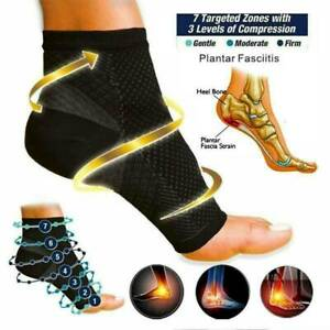 Compression Plantar Fasciitis Socks Sleeve, Helps Feet Pain, Arch Support S - XL