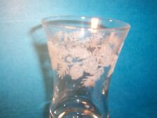 Etched Winter Pinecones Votive Cups Vintage Home Interiors Lot of 2