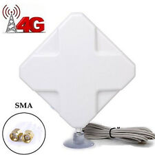 35dBi 4G Antenna LTE SMA Male Wifi Signal Amplifier Booster Router For Huawei