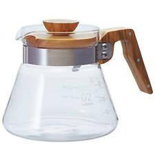 HARIO Coffee Server Natural Olive Wood 600ml VCWN-60-OV Japan Free Shipping