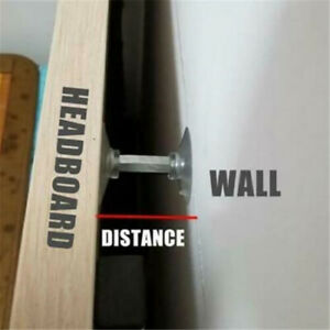 Adjustable Threaded Bed Frame Anti-shake Tool Telescopic Support for Wall