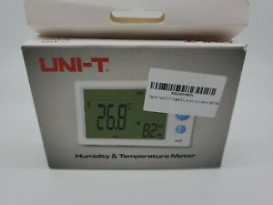UNI-T Digital LCD Thermometer Hygrometer Dual Temperature Humidity Weather Meter