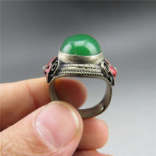 Chinese ,jade,pure manual sculpture,natural jade,Cloisonne,jade,ring S6
