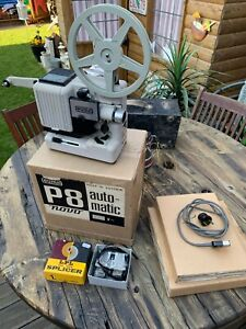VINTAGE  EUMIG Model P8 Automatic PROJECTOR. BOXED