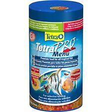 Tetra TetraPro Menu Crisp 64g Tropical Fish Food Flake