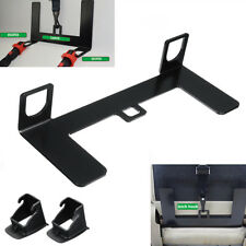 Universal Steel Plate Latch Isofix Connector Belt Bracket Car Child Safety Seat