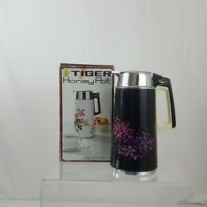 Vintage Insulated Vacuum Carafe Tiger Honey Pot HF-19 C with Box