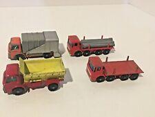 Vintage Matchbox 1970s Truck Set (4)