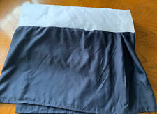 New listing Broyhill King Size Bed Skirt Navy
