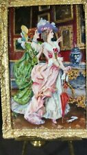 IGMA artisan Barbara Wilson miniature oil painting