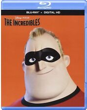 DISNEY PIXAR THE INCREDIBLES(BLU-RAY+DIGITAL HD) BRAND NEW