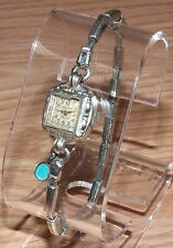 Vintage Gruen Guild Switzerland 10K RGP Bezel Watch w/ 1/20 10KGF Shells Band!