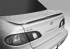 1998-2002 Toyota COROLLA OEM Factory Style Spoiler Rear Wing Fin UNPAINTED ABS
