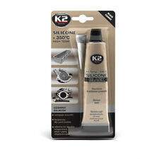K2 Black High Temperature 350° Heat Resistant Silicone Sealant Adhesive 85g