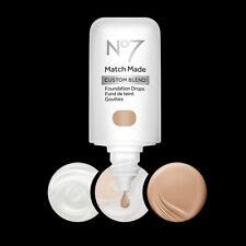 No7 Match Made Custom Blend Foundation Drops, You Choose