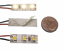 5 LED modelo de casa iluminación warmweiss 8-16v ac/dc Klein Hell para TT