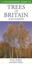 STERRY POCKET FIELD GUIDE BOOK TREES OF BRITAIN & EUROPE paperback BARGAIN new