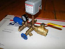 """1.25"""" x 4"""" TANK TEE KIT Water Well Pump Pressure Tank SQUARE D FSG2 30 50 SWITCH"""