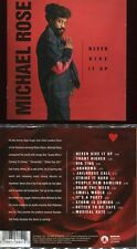 """Michael ROSE """"Never give up"""" (CD) 2001"""