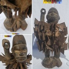 OLD MIGHTY Bakongo Kongo Nkisi Sculpture Statue Figure Mask Tribal African Art