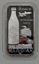 Meridian, MS - Coca-Cola 75th Anniversary - 1 oz. Silver Bar