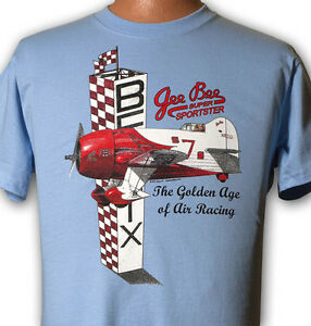 Gee Bee Model R-2 Golden Age of Racing Airplane T-shirt with Full Color Print