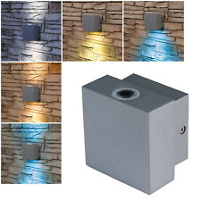 """Außen Fackel-Leuchte /""""3RING/"""" E27 IP54 230V 36cm Haus-Wand Lampe für LED Hof"""