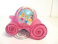 Disney Pink Plastic Popcorn Princess Carriage Coach Lamp Night Light Cinderella
