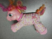 "My Little Pony Plush ""Walking Sweet Steps""  Pink Hasbro 2005  9"" length"