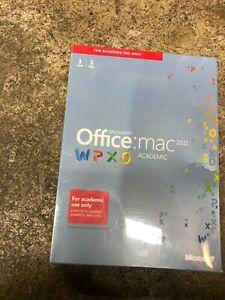 Microsoft Office University 2011 Mac Full Version Academic WPXO New Sealed