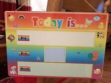 Oggi è... comunicazione Board-Vivaio/SEN/VIGILATRICE d'infanzia-in alluminio