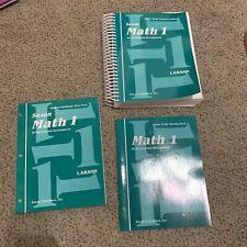 NEW Saxon Math Entire Home Study Kit Set Homeschool Third 1st Grade Curriculum