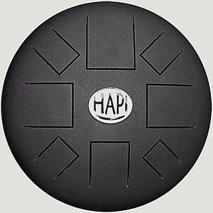 Hapi Drum Slim Handpan tankdrum  inkl. Tasche & Schlegel div. Stimmungen
