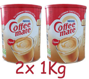 2 x 1Kg Coffee Mate Whitener CoffeeMate