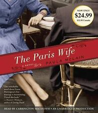 The Paris Wife by Paula McLain (New, SEALED Audio CD, Unabridged) FREE SHIPPING
