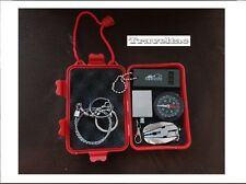 Survival Kit Überlebensset Notfallbox Wasserdichte 6in1 Outdoor Camping Set