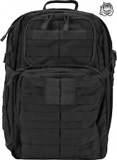 5.11 TACTICAL RUSH 24 BACKPACK 58601 / BLACK 019 * NEW *