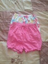 Baby Girl George 2 pairs Shorts Size 12-18months