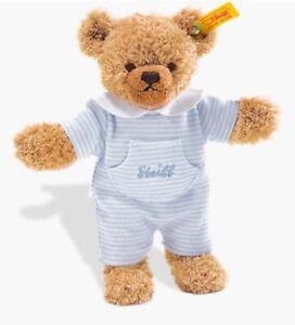 Steiff Sleep Well Teddy Bear Soft Plush Toy Blue 035