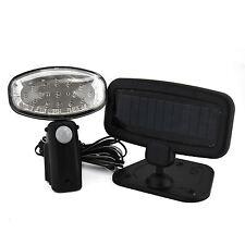 Solar Powered Motion Sensor Security 15 LED Spotlight Home Outdoor Garden Light